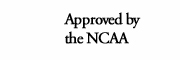 Approved by the NCAA